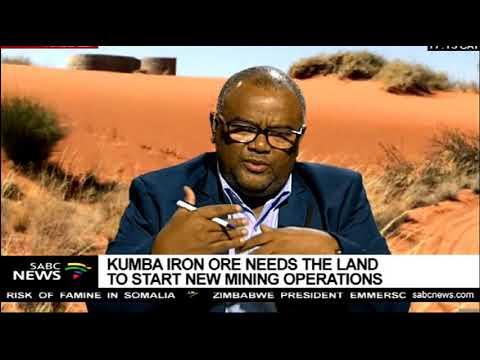 Kumba Iron Ore Mine To Relocate