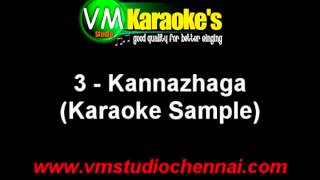 Kannazhaga Tamil Karaoke Song