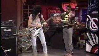 Nitro Guitarist Michael Angelo Batio On Much Music 1991