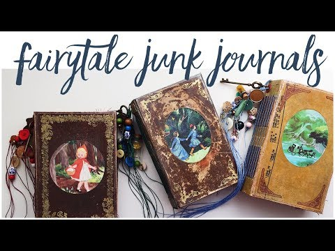 Fairytale Journals | Vintage Junk Journals | Etsy Collection