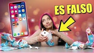 LE REGALO EL IPHONE XS DE NAVIDAD Y ASI REACCIONA | BROMA