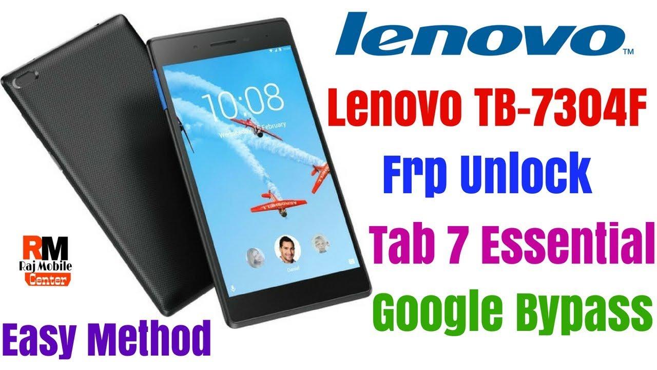 Lenovo TB-7304F Frp Unlock | Remove Google Account - - vimore org