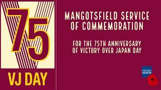 Mangotsfield VJ Day 75th Anniversary Service