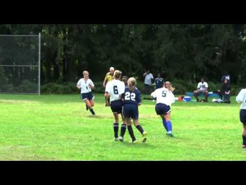 Marvelwood Girls Varsity Soccer vs Oakwood Friends School 9/21/12