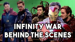 OFFICIAL AVENGERS: INFINITY WAR BEHIND THE SCENES 2017