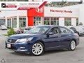 2013 Honda Accord Touring Sedan - Harmony Honda - Blue - 18386A - Kelowna, BC