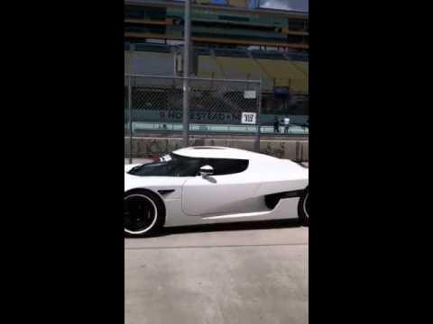 Ultimate aero ssc and Koenigsegg ccx drive up