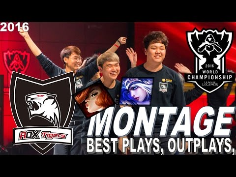 BEST OF ROX TIGERS | WORLDS 2016 MONTAGE | @LeagueOfLegends