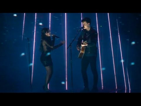 Shawn Mendes And Camila Cabello - Stitches/IKWYDLS(Peoples Choice Awards 2016)