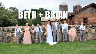 Van Hoosen Farm Wedding | Rochester Hills, Michigan | Beth + Brian