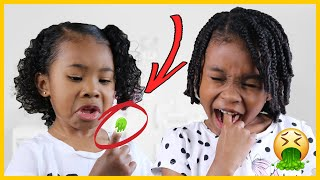 Simon Says Pick Your Nose & Eat it! EWW | Pretend Play w/ Sekora & Sefari