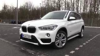 2018 BMW X1 F48 sDrive18i  (140 HP) TEST DRIVE