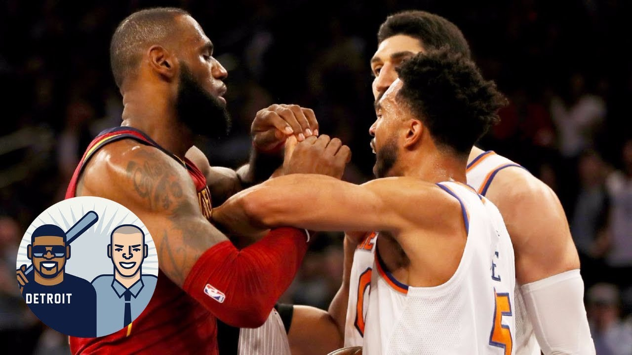 LeBron James will join the Knicks if he leaves the Cavaliers | Jalen & Jacoby | ESPN