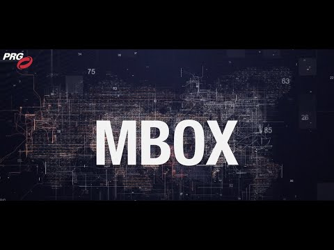 PRG Innovation Presents: Tech Connect - MBOX