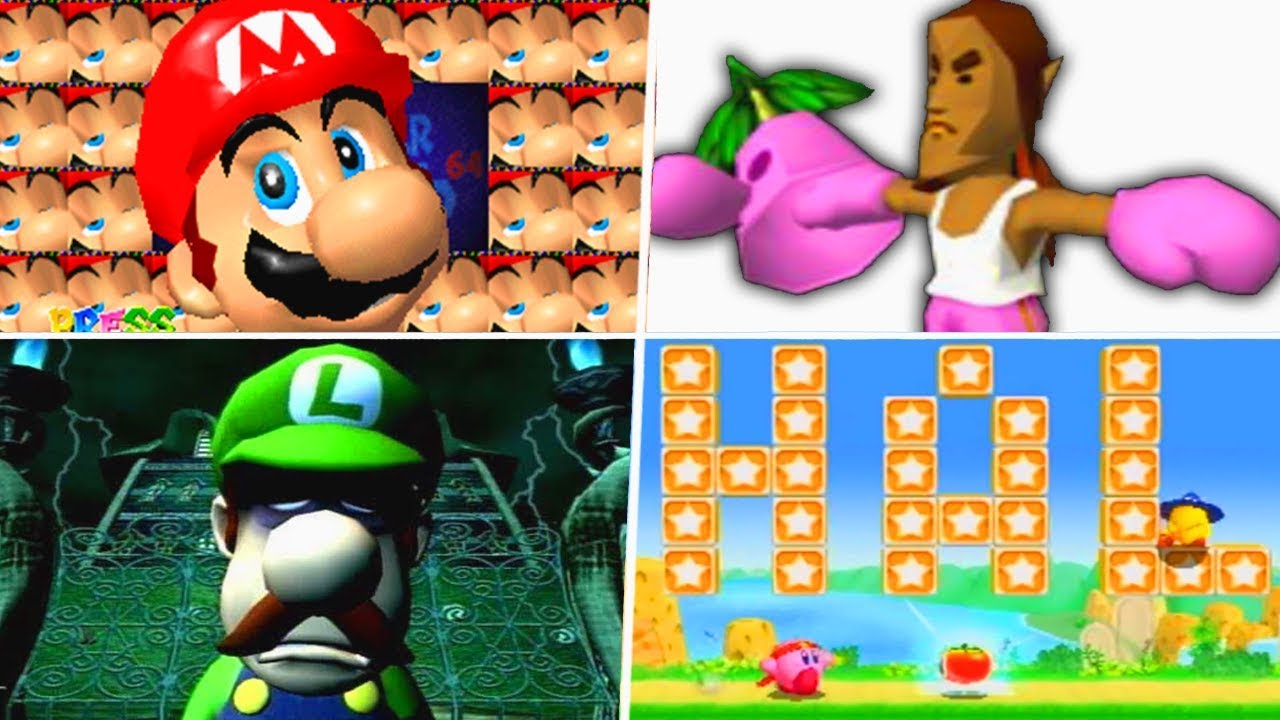 Evolution of Hidden Secrets in Nintendo Games (1986 - 2019)