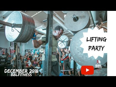 Bbl fitness annual lifting party| 2018