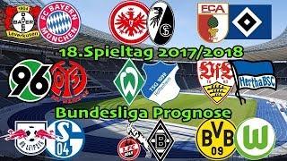 FIFA 18 Bundesliga Prognose 18.Spieltag 2017/2018 Alle Spiele, alle Tore Deutsch (HD)
