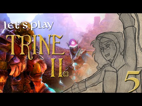 Metaguards' Play: Trine 2 Goblin Menace DLC [005] - Golem Fight |