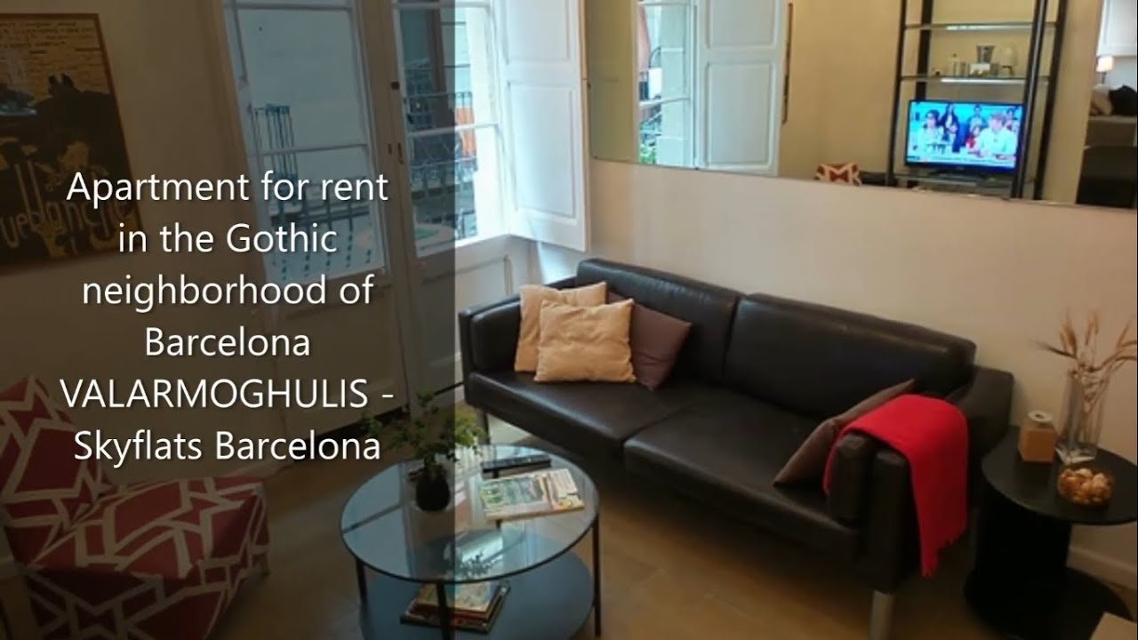 Apartment for rent in the Gothic neighborhood of Barcelona ...