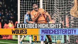 WOLVES DO THE DOUBLE OVER THE CHAMPIONS! | Wolves 3-2 Man City | Extended highlights