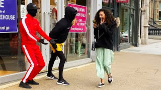 Mannequin Prank was too much for Her: Unbelievable Scream