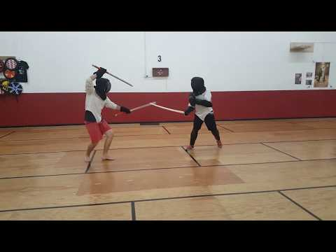 Thai Dual Swords v.s. European Sabre and Shield