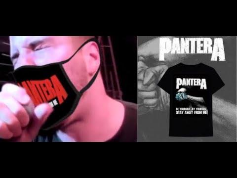 Pantera's social distancing t-shirt/mask raise $100,000 for the MusiCares