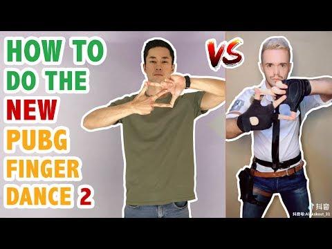 How To Do The PUBG Finger Dance 2 (Tik Tok / Musically Challenge) | Dance Tutorial #32.1