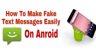 Make Fake Text Messages | Prank Your Friends (Hindi)
