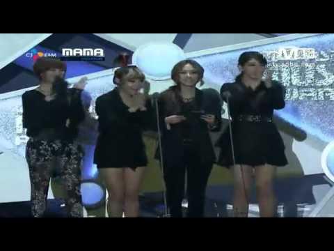 [LQ] 2011 MAMA Best New Female Artist - A Pink Cut