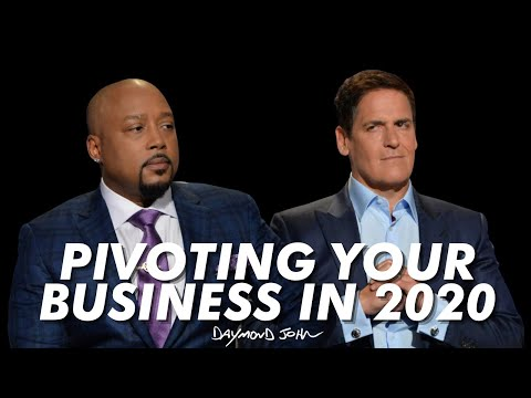 How Shark Tank Had to Pivot in 2020 - Mark Cuban and Daymond John