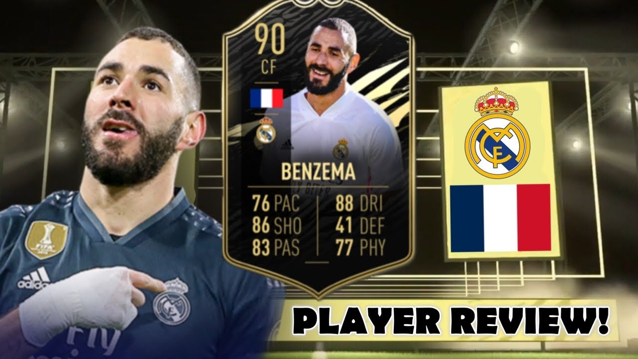 IS HE WORTH IT? 🤔 90 INFORM (IF) KARIM BENZEMA REVIEW! - FIFA 21 - YouTube