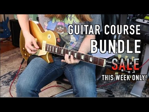 Huge Guitar Course Sale THIS WEEK!