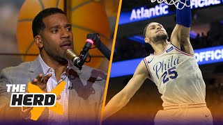 Jim Jackson says Ben Simmons is the next LeBron James, Harden is not the MVP | THE HERD