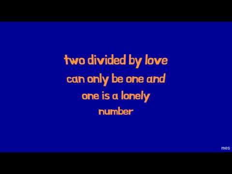 Two Divided by Love   The Grass Roots   Lyrics ☾☀