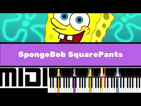 SpongeBob SquarePants Theme / Pirates (Instrumental version tutorial)