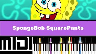 Download SpongeBob SquarePants Theme / Pirates (Instrumental version tutorial) MP3 song and Music Video