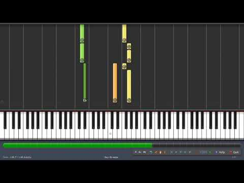 India Song - Carlos d'Alessio (Piano Synthesia, Sheet + Midi)