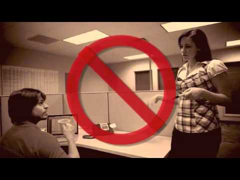 Sexual harassment at work funny video