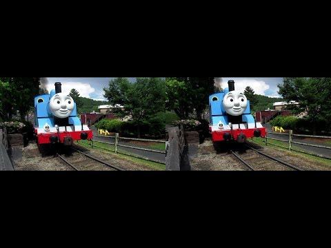 VR 3D Thomas The Train Runby 1 (Stereoscopic 3D)