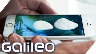 Zerkratztes Smartphone Display reparieren für 50 Cent? So geht´s! | Galileo | ProSieben