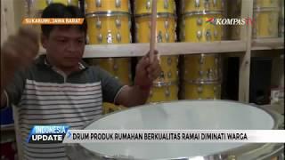 Pria Sukabumi Ciptakan Drum Produk Rumahan