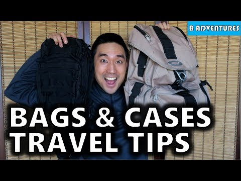 Travel Tips On Bags & Luggage