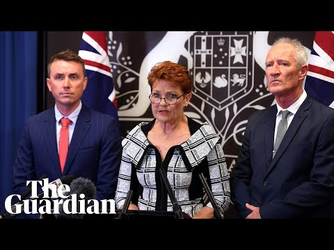 Pauline Hanson defends One Nation staffers James Ashby and Steve Dickson