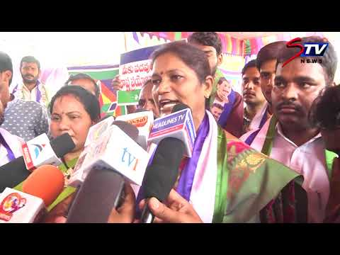 Chennai YSRCP Party Protest Against TDP and Modi Government | Demand Special Status for AP|STV
