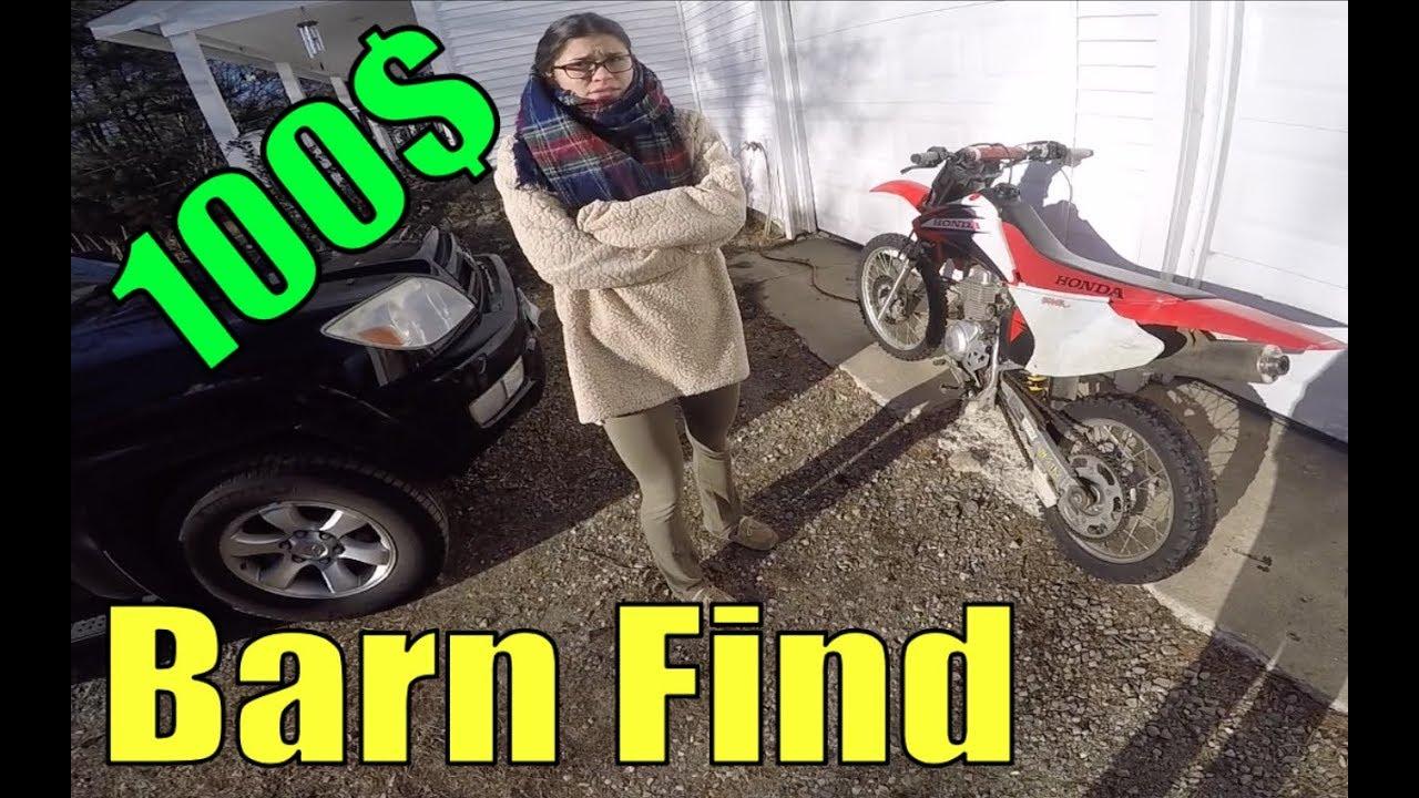100$ Craigslist Dirt Bike - Can We Fix It?