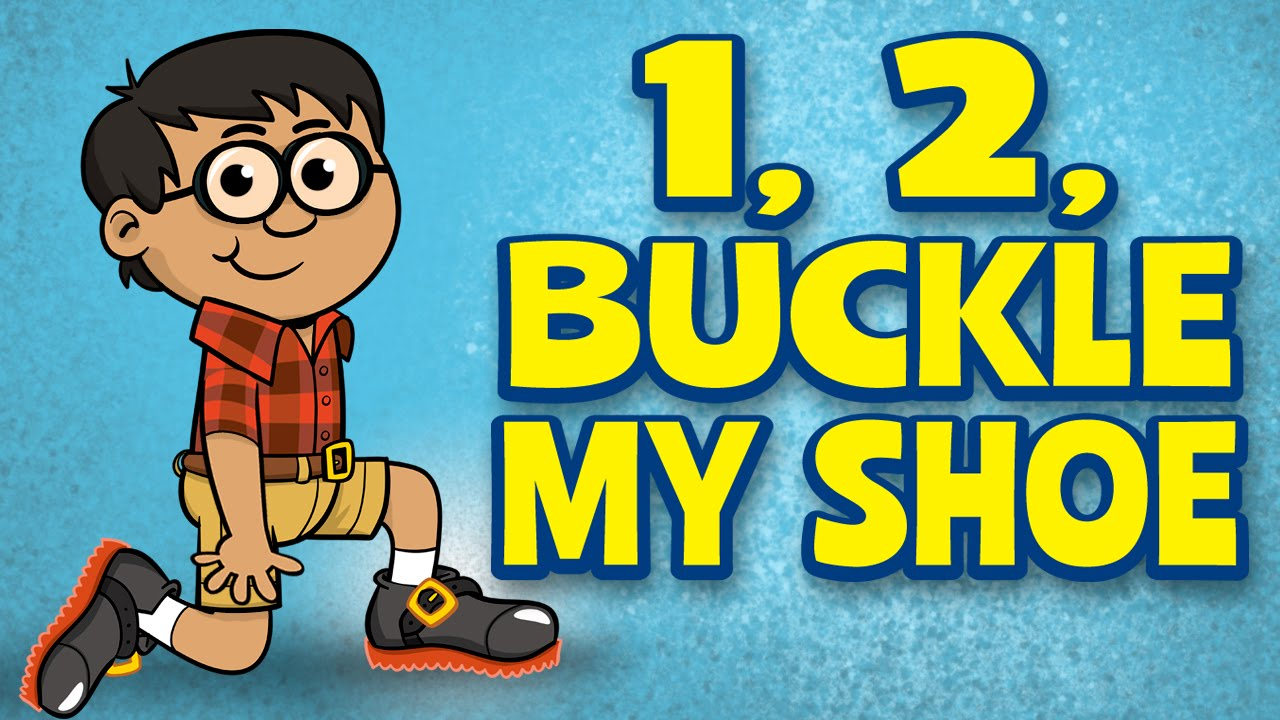 photograph about One Two Buckle My Shoe Printable known as Counting Audio for young children - 1, 2, Buckle My Shoe - Small children New music through The Understanding Station