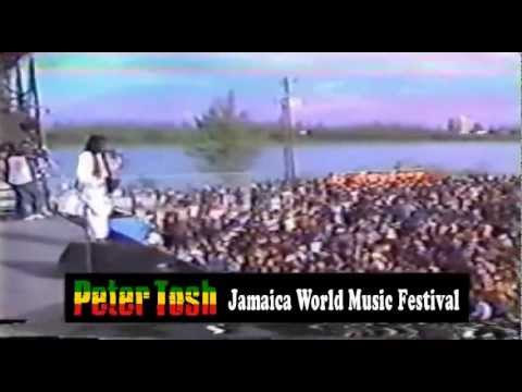 Peter Tosh - Live @ Jamaica World Music Festival