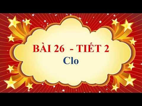 Hóa học lớp 9 - Bài 26 - Clo - Tiết 2