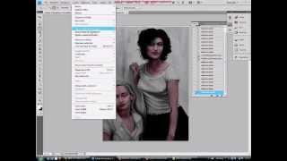 Tutorial Photoshop 1 - Da Bianco e Nero a Colore